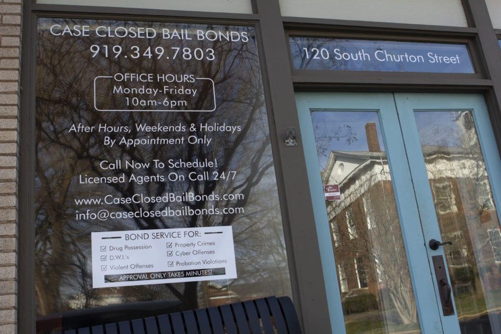 Bail Bonds Hillsborough NC Front Entrance L